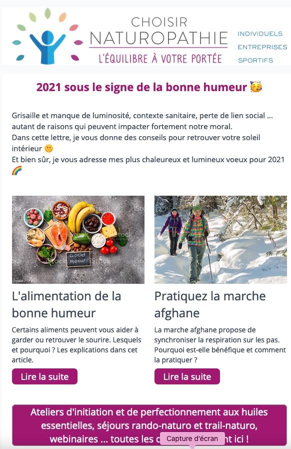 2021 sous le signe de la bonne humeur 🥳