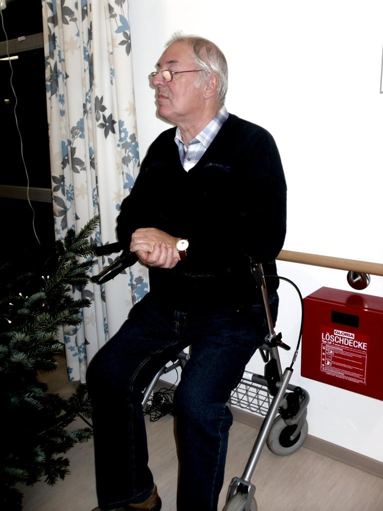..und Bernd nimmt solange in einem besonderen Sitz Platz