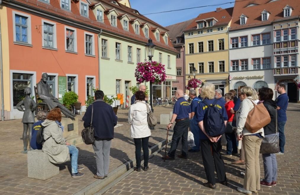 Nitsche-Denkmal auf dem Naumburger Holzmarkt