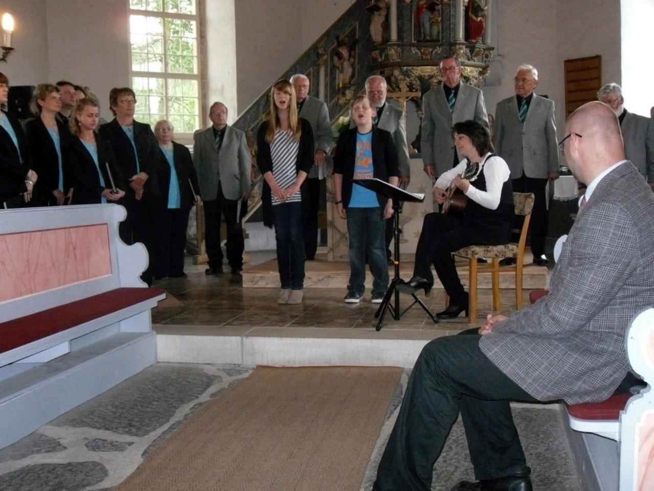 """Frühlingswind"" geht durch die Seebacher Kirche"