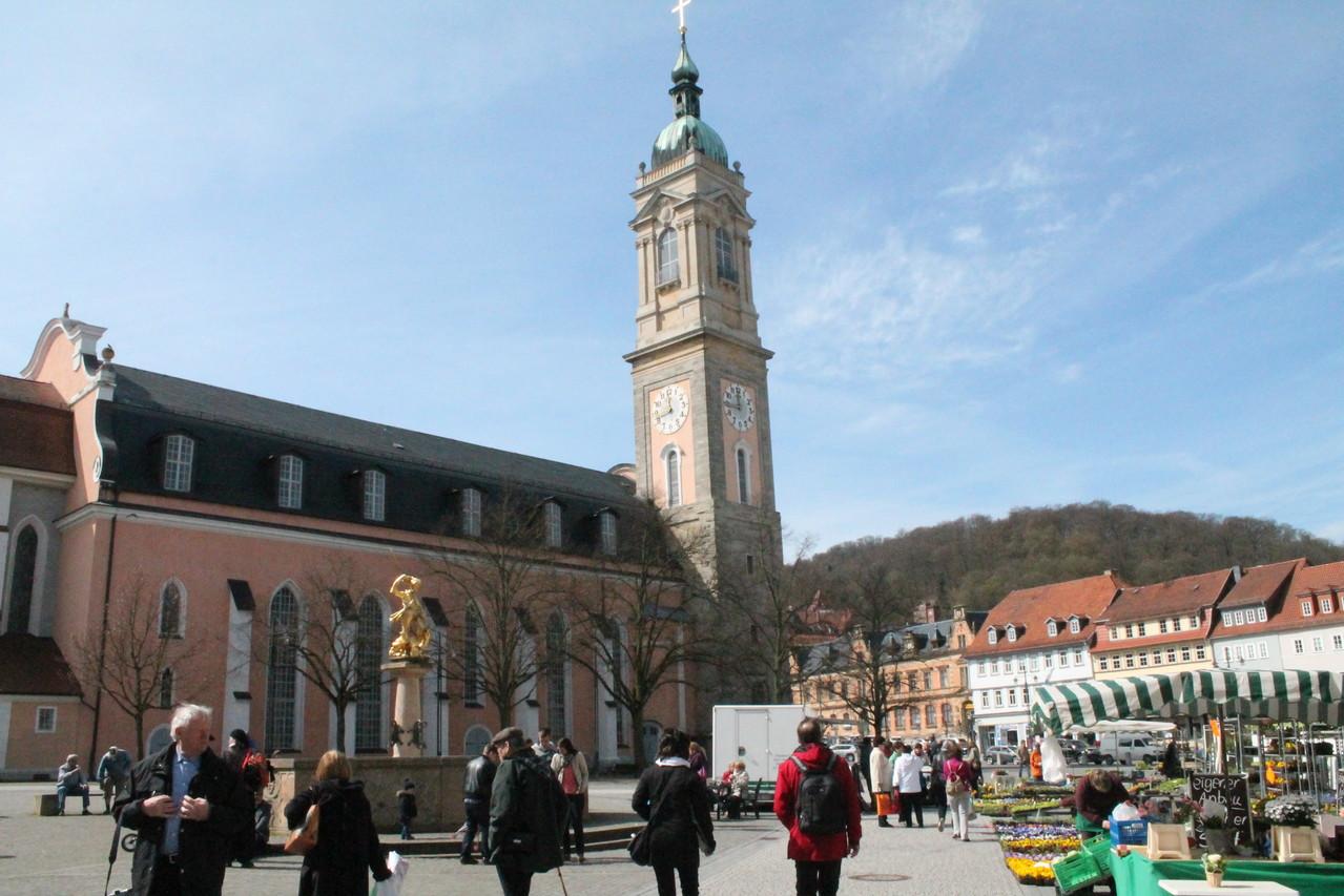 Hier ist unser Auftrittsort- die St. Georg Kirche zu Eisenach