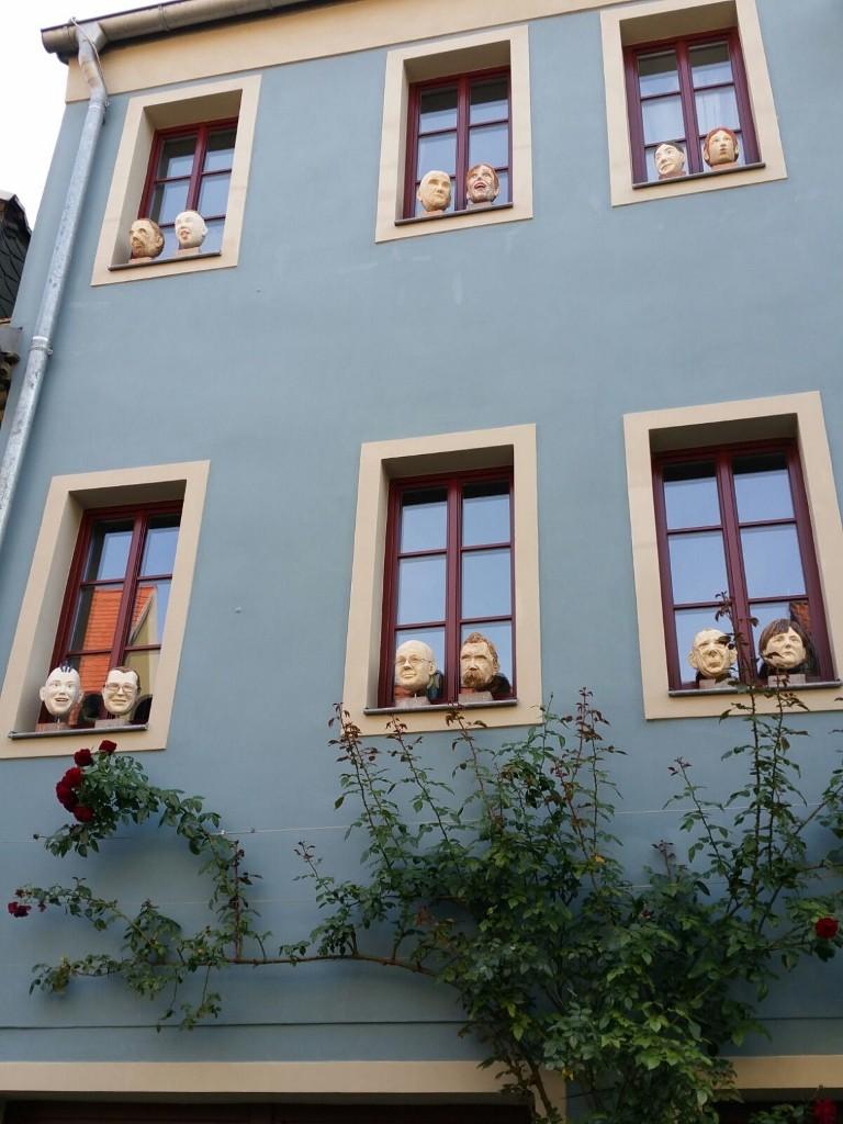 ein Bürgerhaus - mal etwas anders dekoriert
