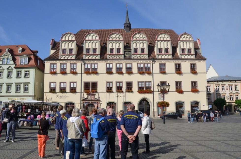Rathaus auf dem Marktplatz