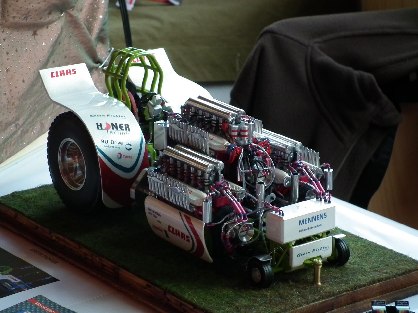 Traktorpulling in 1/24