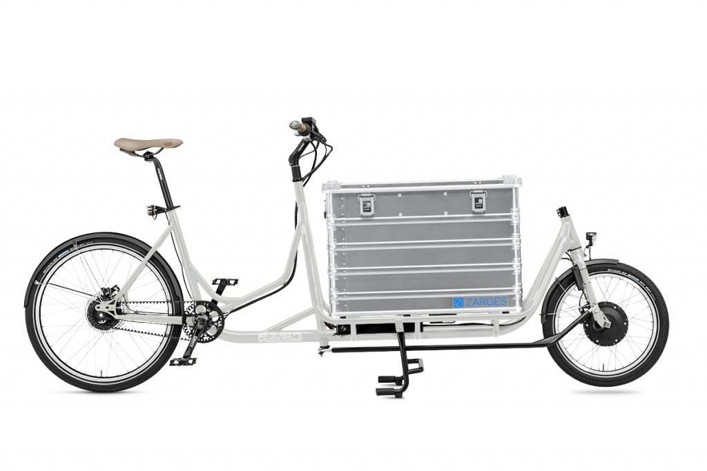 Radkutsche Cargo e-Bike / Lastenvelo Rapid mit vielen Aufbaumöglichkeiten