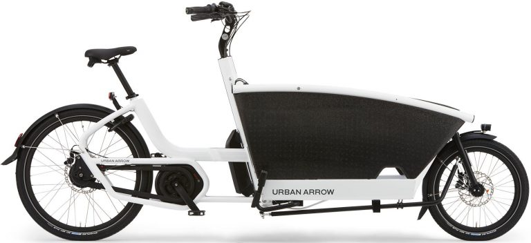 Urban Arrow e-Cargobike und Lastenvelo Family 2019