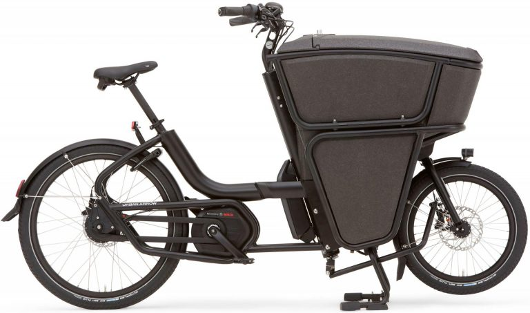 Urban Arrow e-Cargobike und Lastenvelo Shorty 2019