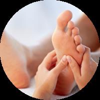 Sanastella Hildisrieden, Schwangerschaft - Geburt - Wochenbett, Pauschalangebot für Fussreflexzonen-Massage und Körperreflexzonen-Therapie