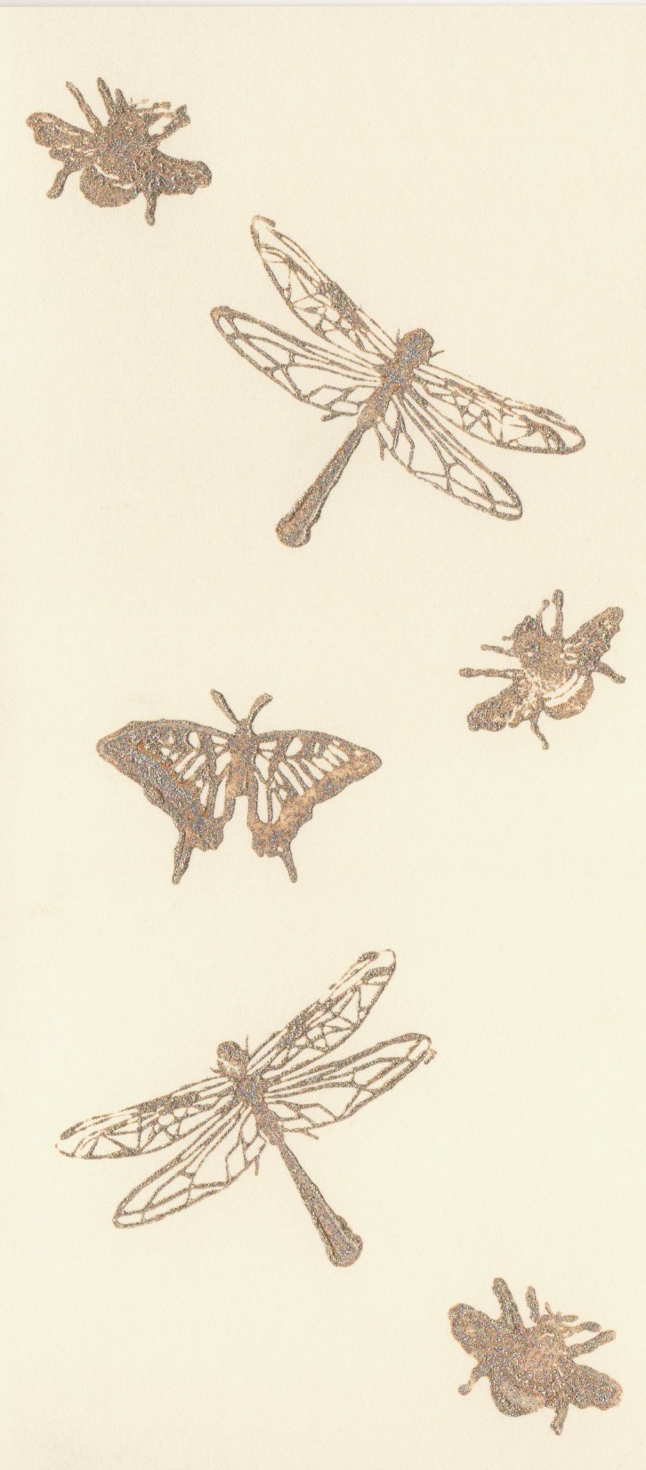 Insekten  Karte Din-lang