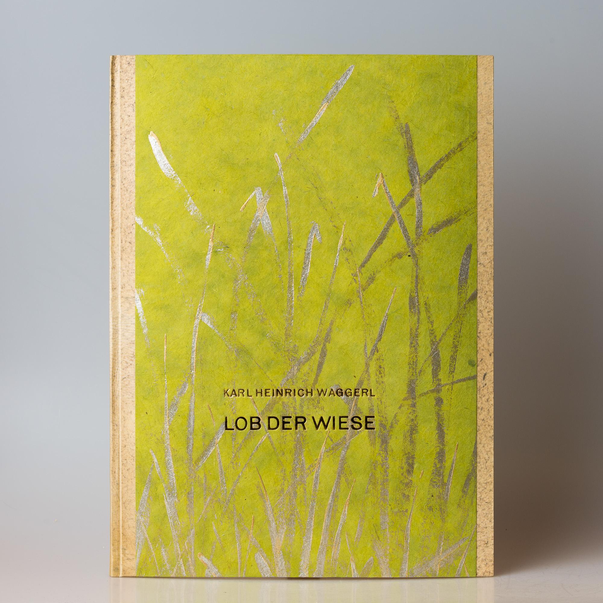 Lob der Wiese, Waggerl, Halbpergamentband  500.-