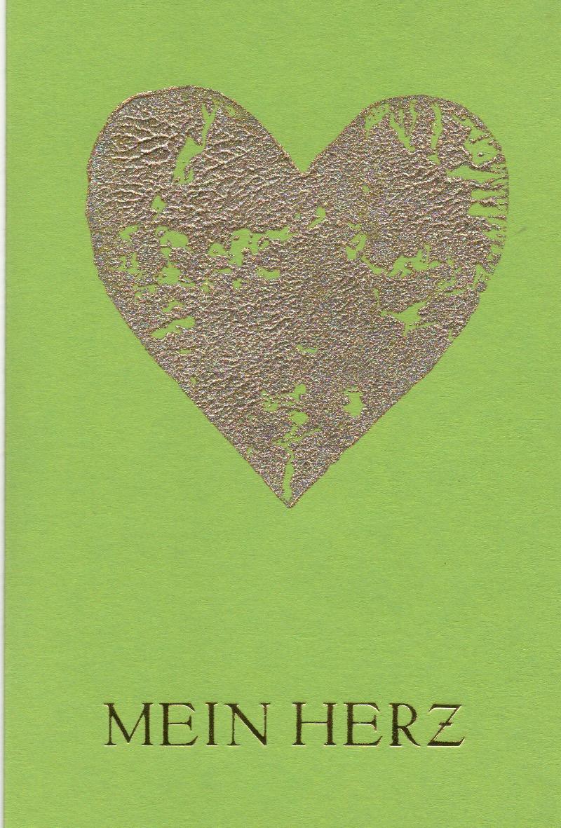 Mein Herz grün C6
