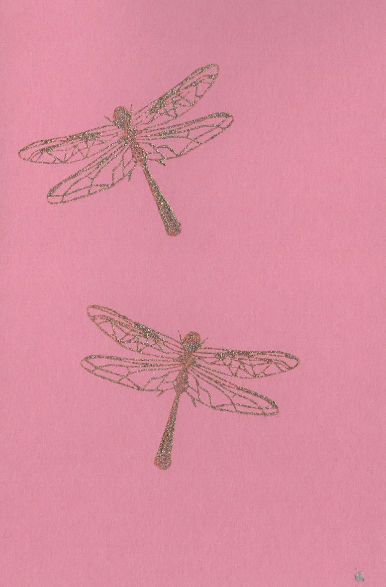 Libellen rosa C6