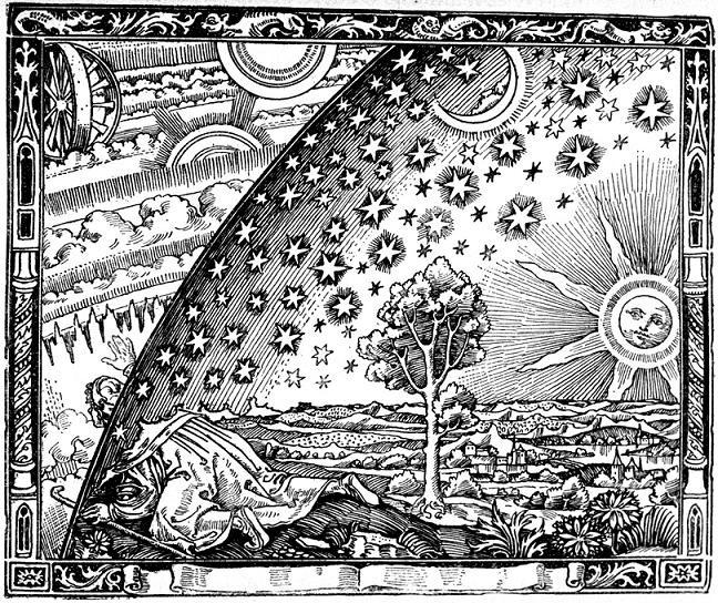 """Flammarions """"Auf Pilgerschaft"""", unbek. Künstler"""