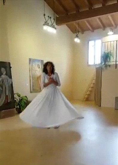 Danza Sufi, prove di Giusi Ulivieri