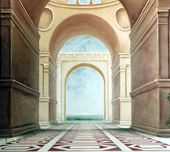 TROMPE LOEIL From ITALIAN DECOR Murals Arts And Crafts For Interior Decoration