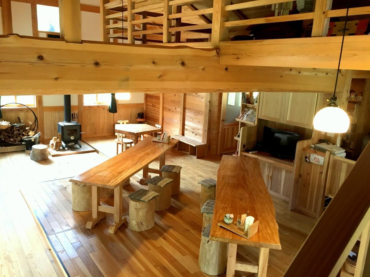 つるのIORI(杉板倉の木造住宅モデルハウス) 三島町