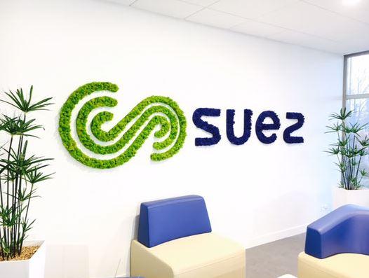 Logo végétal (SUEZ)
