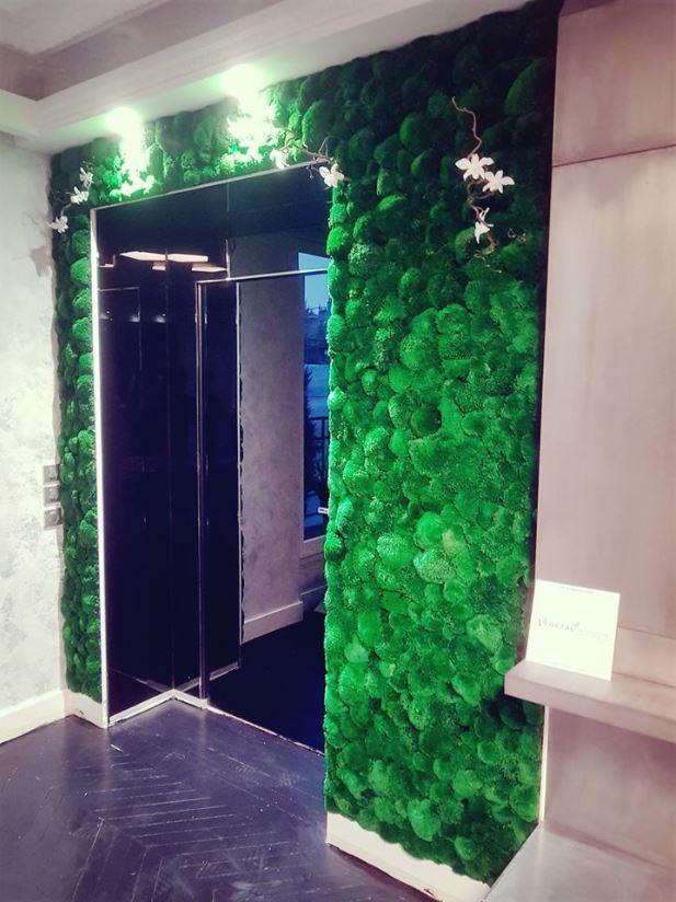 Mur végétal gamme mousse boule (PARIS)