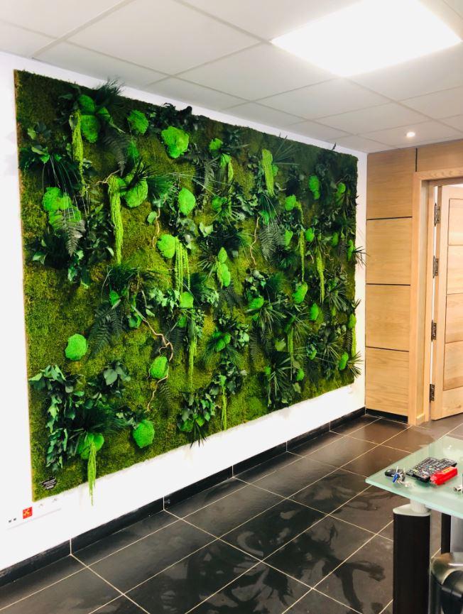 Mur végétal gamme relief (MAURITANIE)