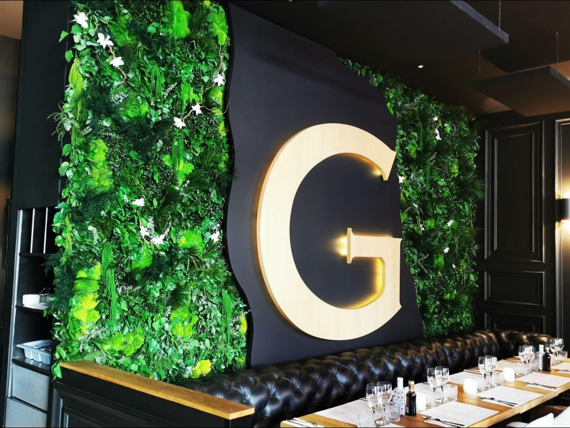 Mur végétal gamme feuillu (GRAZIELLA)