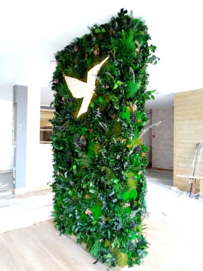 Mur végétal gamme feuillu (SCAPAD)