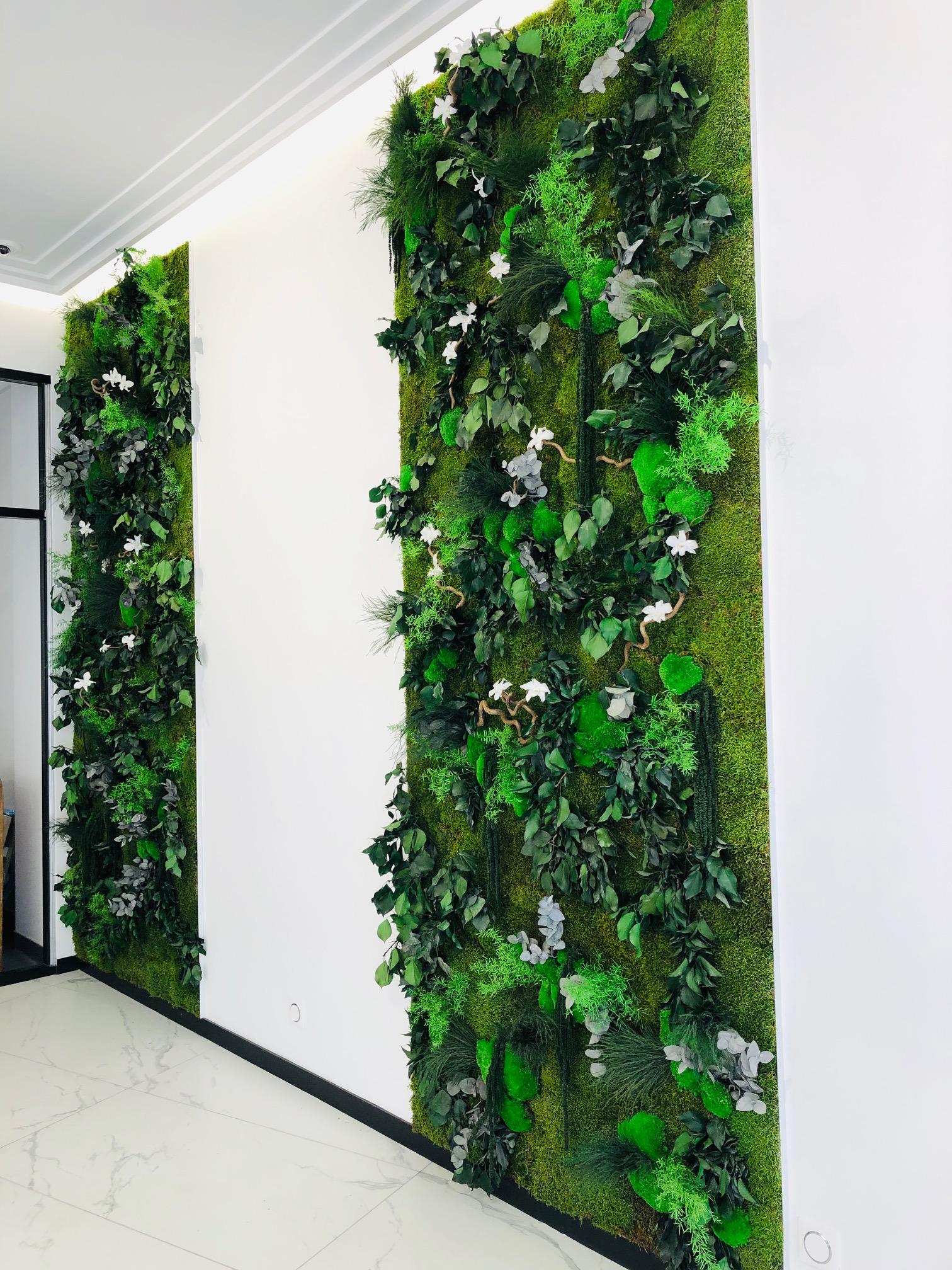 Mur végétal gamme relief (PRESTAV)