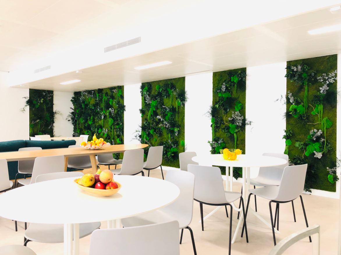 Mur végétal gamme relief (ARDESK)