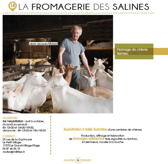 chevre fromage elevage oleron mops