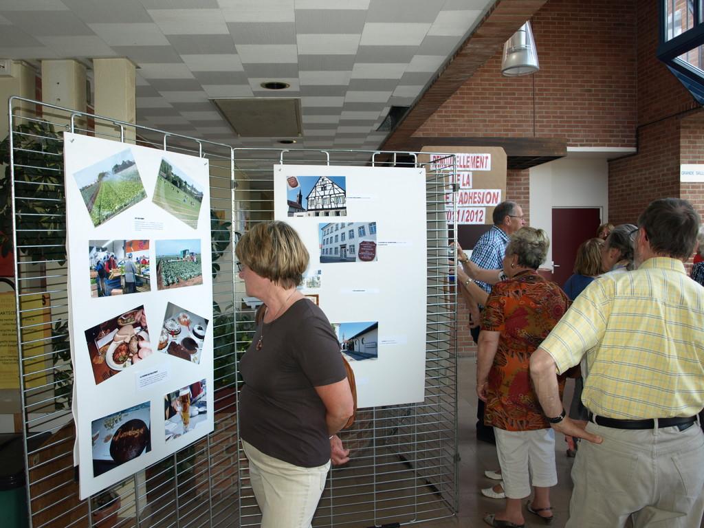Expo photos au Centre Social sur Da-Schauernheim.