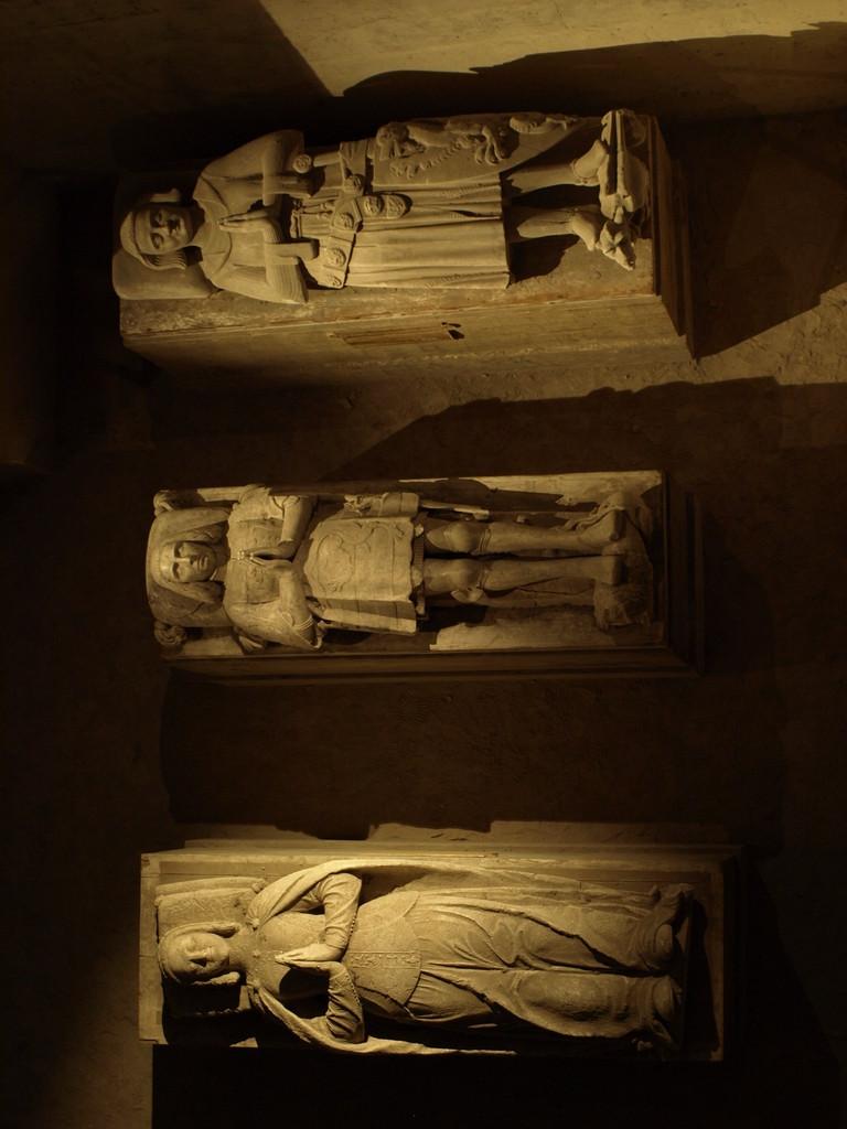 La galerie des gisants