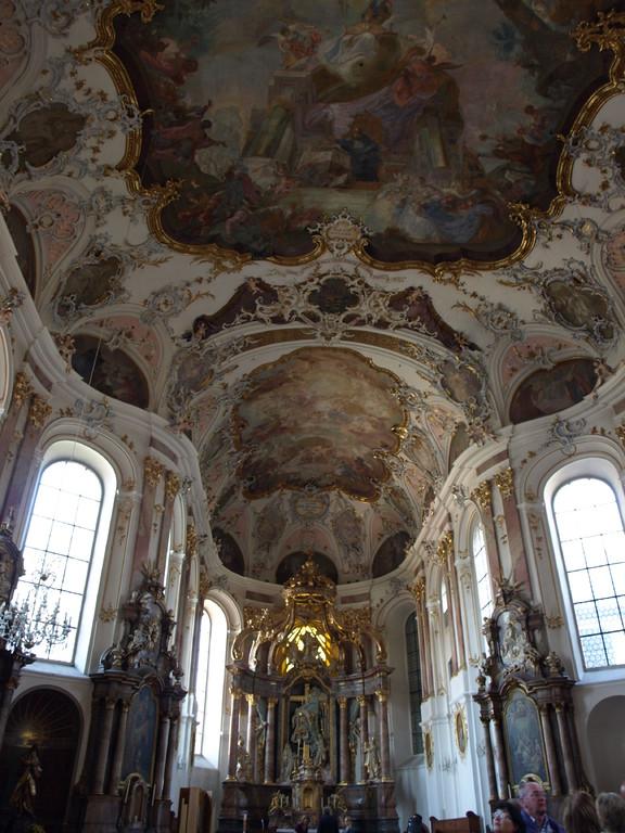 Intérieur baroque.