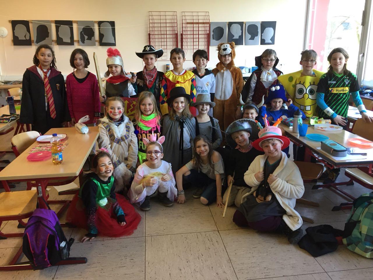 Gruppenbild Klasse 4