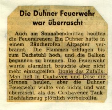 1964 © FF-Duhnen