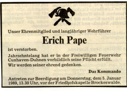 1989 © FF-Duhnen