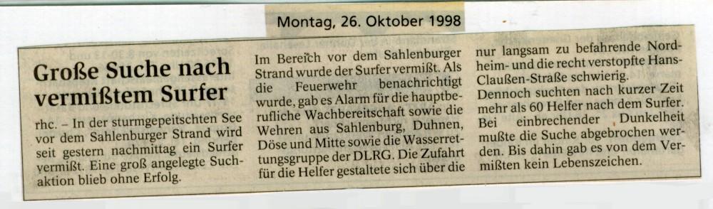 1998 © FF-Duhnen