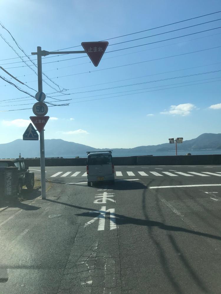 周防大島の道路