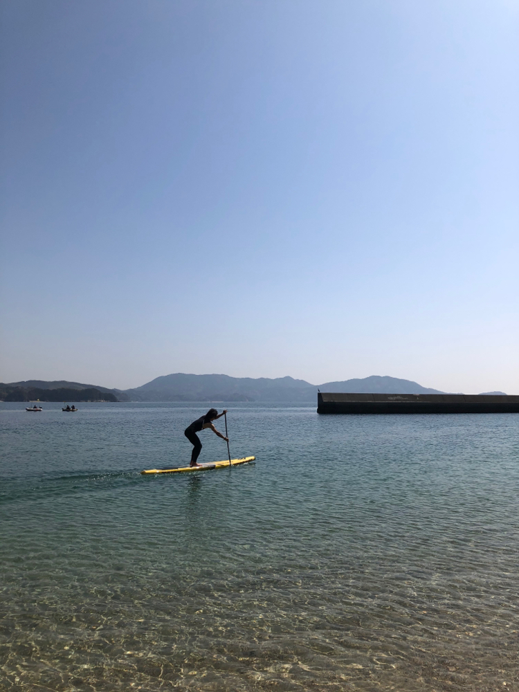 周防大島の庄南ビーチ