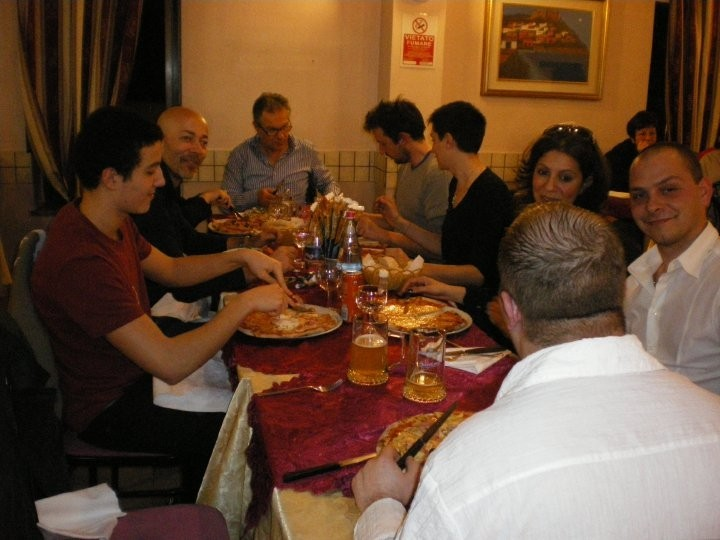 Aikido - cena di Pasqua (aprile 2010)