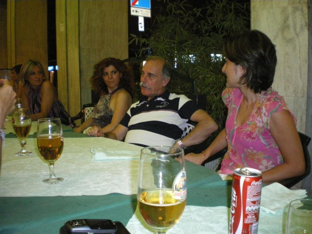 Autodifesa - cena di fine corso (luglio 2010)