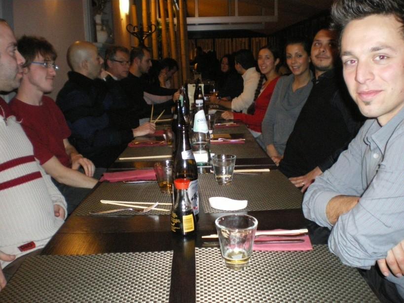 Aikido - cena di Natale (dicembre 2010)