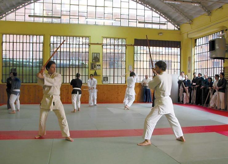 Stage di Katori Shinto Ryu - 2004