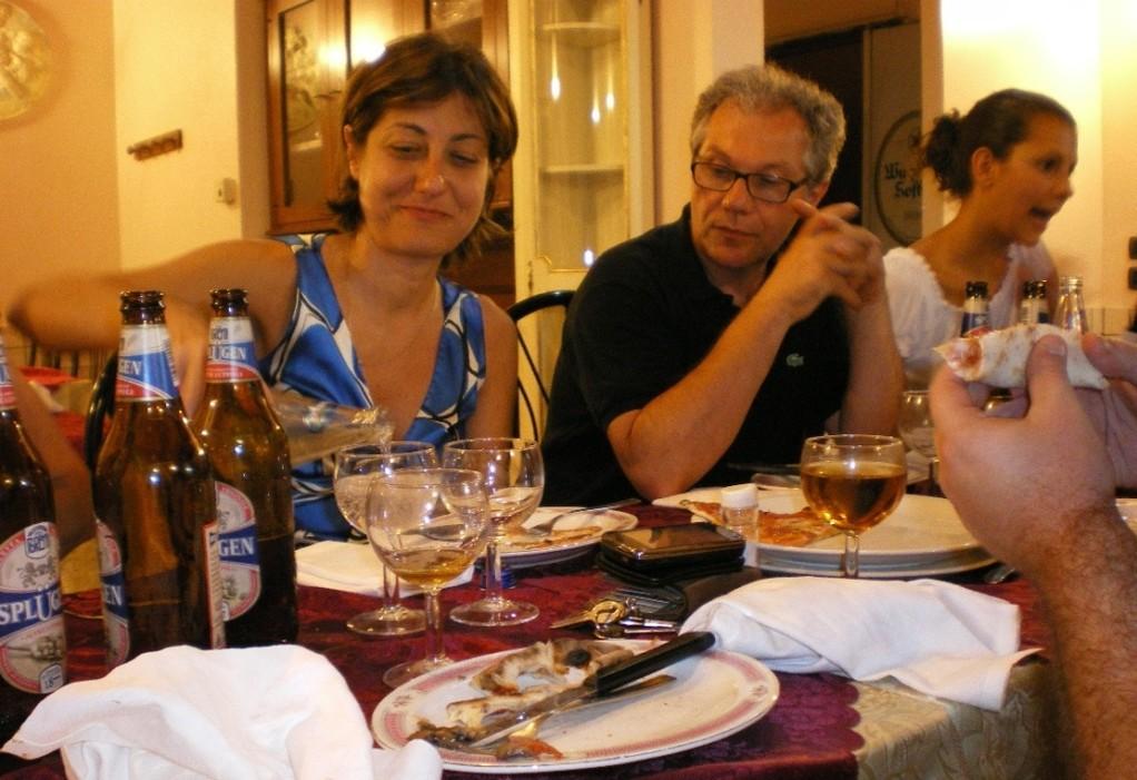 Aikido - cena di fine corso (luglio 2010)
