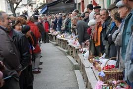 le marché aux truffes de Lalbenque