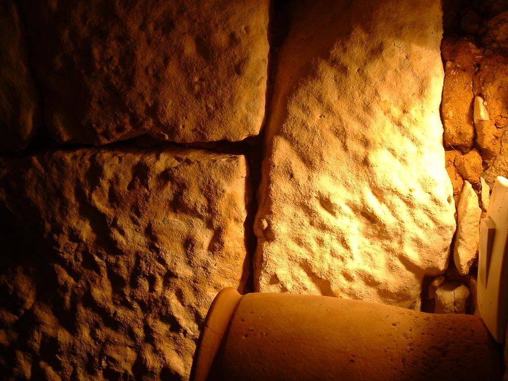 """Ambiance gîte """"la tuile à loups"""" - les murs en pierres"""