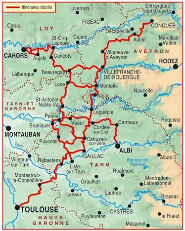 quercy gorges de l'Aveyron