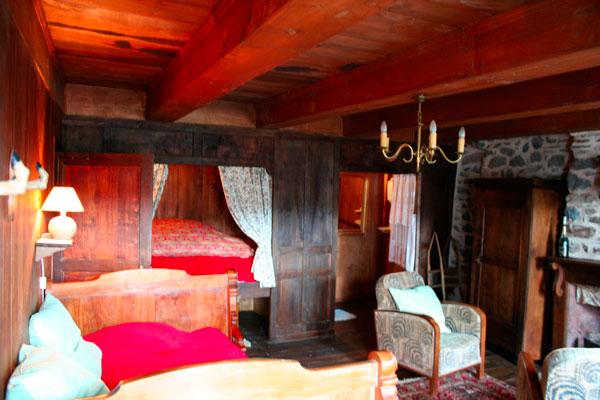 chambre du gite à louer occitanie