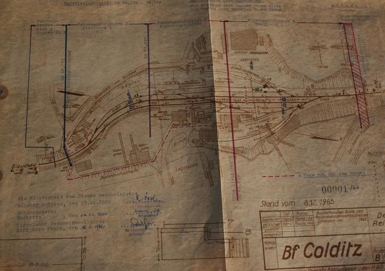 Original Gleisplan 1965
