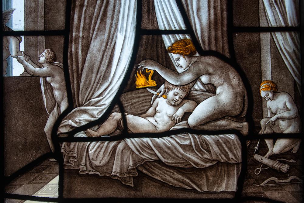 Psychée et l'Amour - Château de Chantilly © Danielle