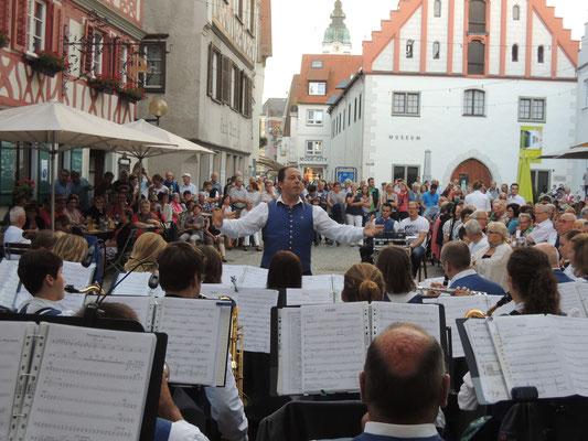Immer ein Besuch wert: das Sommerabendkonzert des Musikvereins Reute Gaisbeuren
