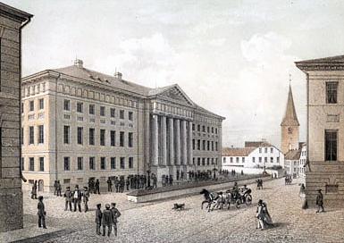Universität Dorpat um 1860